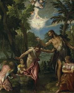 Хрещення Ісуса Христа, Paolo Veronese