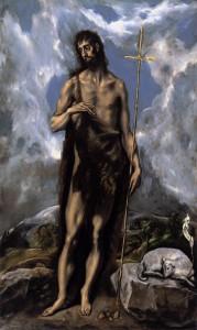 Іоан Хреститель, El-Greco