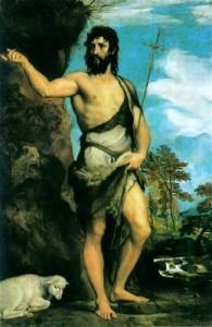 Іоан Хреститель, Titian, 1542