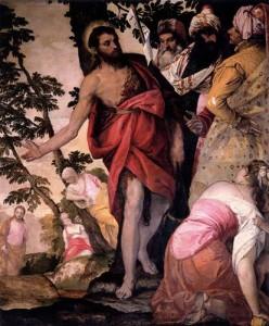 Проповідь Іоана Хрестителя, Paolo Veronese, 1562