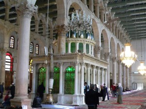 Мусульмани стверджують, що голова Івана Хрестителя похована в Омеядській мечеті Дамаска
