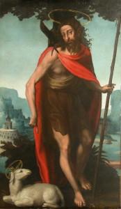Іоан Хреститель, Juan de Juanes, 1560