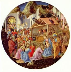 Поклоніння волхвів by Fra Angelico