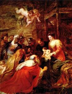 Поклоніння волхвів, Rubens, 1634