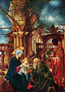 Поклоніння волхвів, Albrecht Altdorfer, c. 1530