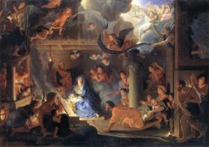 Поклоніння пастухів, Charles Le Brun