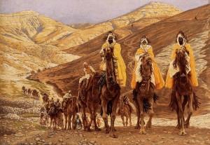 Подорож волхвів, James Tissot, 1894