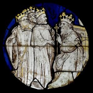 Волхви перед Іродом, French 15th-century