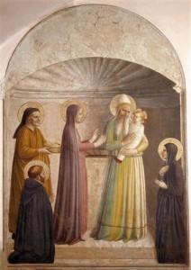 Стрітення, Fra Angelico