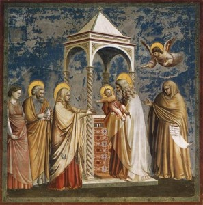 Стрітення, Giotto, 1304-1306