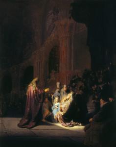 Стрітення, Rembrandt, 1631