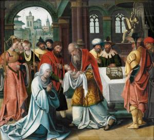 Стрітення, Pieter Coecke van Aelst