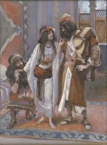 Раав і розвідники, James Tissot