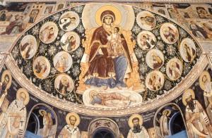 Фреска з Ватопедського монастиря