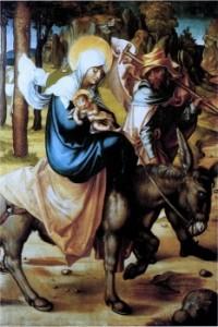 Втеча до Єгипту, Albrecht Durer, 1494