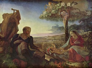 Відпочинок під час втечі до Єгипту, Philipp Otto Runge, 1806