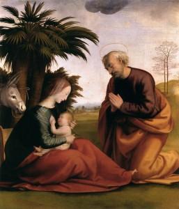 Відпочинок під час втечі до Єгипту, Fra Bartolomeo