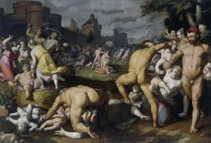 Побиття Віфлеємських немовлят, Cornelis van Haarlem, 1590