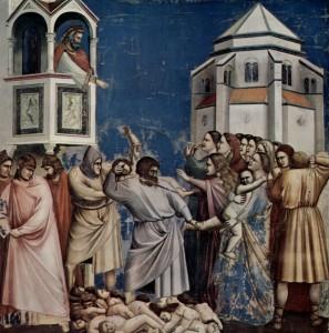 Побиття Віфлеємських немовлят, Giotto