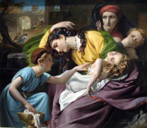 Побиття Віфлеємських немовлят, François-Joseph Navez, 1824