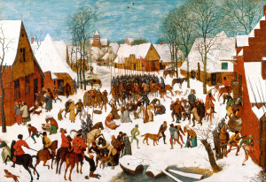 Побиття Віфлеємських немовлят, Pieter Brueghel the Elder