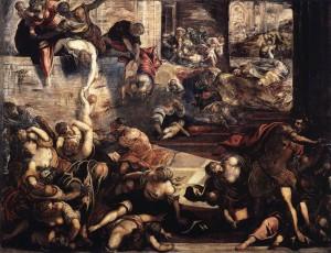Побиття Віфлеємських немовлят, Jacopo Tintoretto