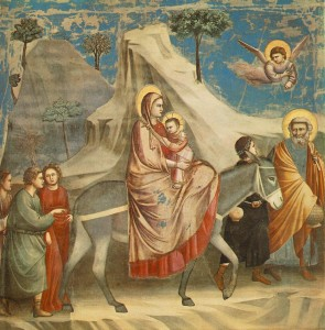 Втеча до Єгипту, Giotto di Bondone 1304-06
