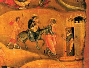 Втеча до Єгипту, монастир св. Катерини, 12 ст., Синай