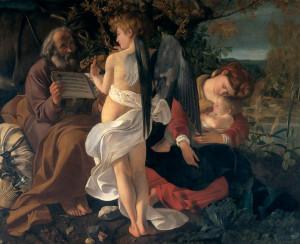 Відпочинок під час втечі до Єгипту, Michelangelo