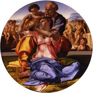 Відпочинок під час втечі до Єгипту, Michelangelo.