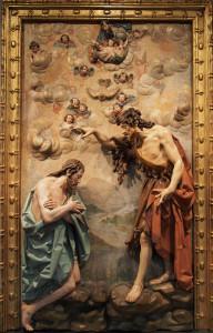 Хрещення Ісуса Христа, Gregorio Fernández, 1630