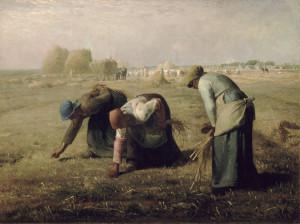 Збирачі колосків, Jean-François Millet