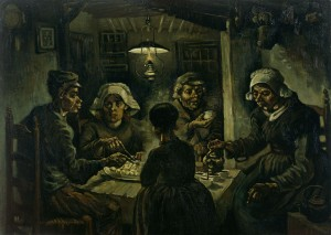 The Potato Eaters, Vincent van Gogh, April 1885