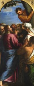 Покликання Закхея, Jacopo Palma