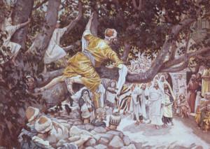 Покликання Закхея, James Tissot