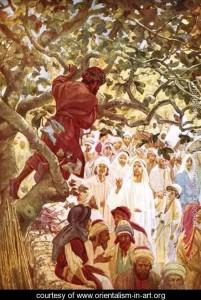 Покликання Закхея, William Brassey Hole